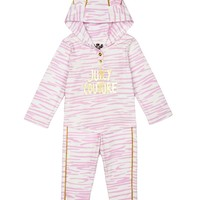 Baby 2Pc Ziger Print Hoodie & Legging Set by Juicy Couture