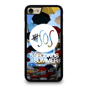 5 SECONDS OF SUMMER 4 5SOS iPhone 7 Case Cover