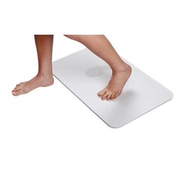 Instant Dry Diatomite Absorbent Bath Mat Large