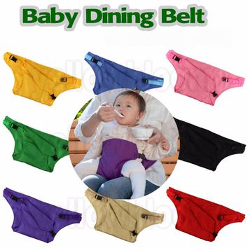 Baby Dining Belt Portable Infant Chair Seat Belt Harness Baby Carrier Baby Sling
