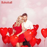 10Pc Red Pink Balloons