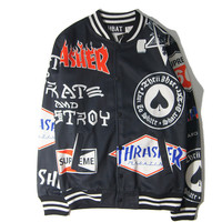 Hip-hop Print Jacket [9070631043]