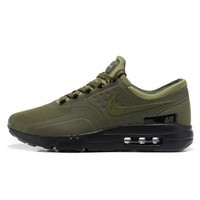 Best Deal Online Nike Air Max 87 Zero QS ESSENTIAL Army Green Black Men Running Shoes Women Sport Shoes
