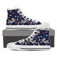 Nautical Pattern Shoes