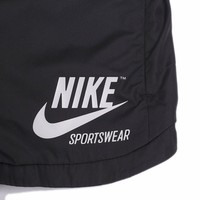 Nike Women Casual Black Sport Shorts