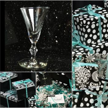Gifts to Go! Bamboo Stem Cordial Glasses, Classic Stemware