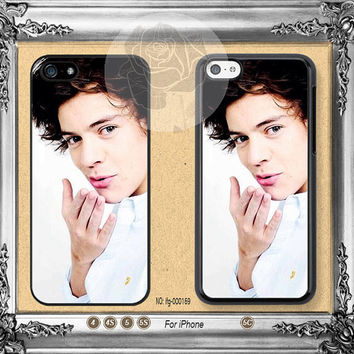 One Direction Harry Styles iPhone 5s case, iPhone 5C Case iPhone 5 case, iPhone 4 Case One Direction iPhone case Phone case ifg-000169