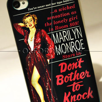 Marilyn Monroe Quote - for iPhone 4/4S case iPhone 5 case hard case hard cover
