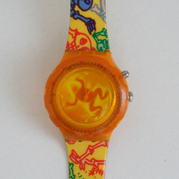 SWATCH  Luminosa SDJ901 Swiss made watch 1997 quartz originals GJ122
