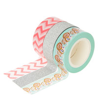 3 Pack Decorative Donut Tape Set