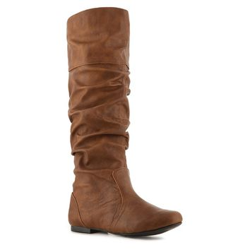 Shop  Qupid Neo-144 Slouch Boot Larger View