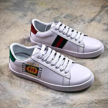 GUCCI Ace Embroidered Low Top Sneaker #2