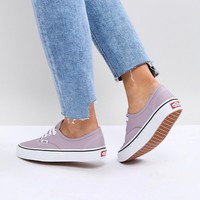Vans Canvas Sneakers at asos.com