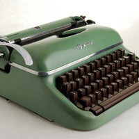 Typewriter Optima Elite 3, 1950s