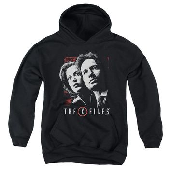 X Files - Mulder & Scully Youth Pull Over Hoodie