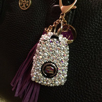 Swarovski Crystal & Pearls Custom Car Key