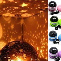 "Sky Star LED Flower Night Light Lamp Projector Gift for Children Kids Romantic 12 x 12 cm(4 6/8""x 4 6/8"") = 1705492228"