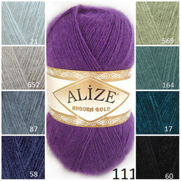 ALİZE Angora Gold, knitting supplies, soft yarn, knitting yarn, classic yarn, scarves yarn, crochet yarn, yarn for accessories, hat yarn