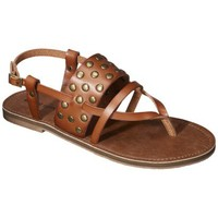 Women's Mossimo Supply Co. Orina Flat Sandal - Cognac