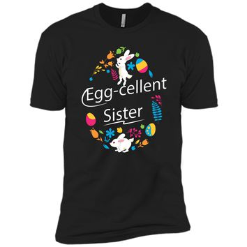 Family Matching Easter Outfit For Sister Next Level Premium Short Sleeve Tee
