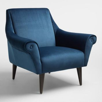 Atlantic Blue Liliana Chair