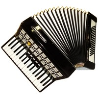 Weltmeister Serino, 80 Bass, 8 Registers, Case, German Piano Accordion, 612