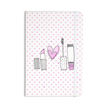 "MaJoBV ""Girls Luv"" Pink Makeup Everything Notebook"