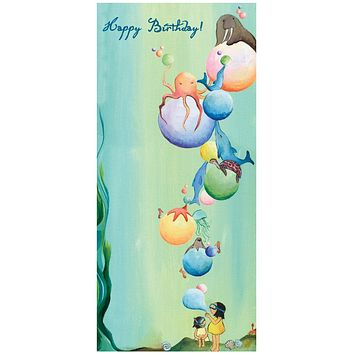 Underwater Party - Single Card