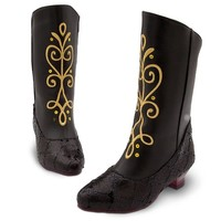 Disney Store Anna Boots for Girls Frozen Size 11 - 12