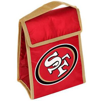 NFL SF San Francisco 49ers Lunch Box Bag Cooler  Tote
