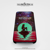 In The Moon light Nebula Space Ariel The Little Mermaid case for iPhone, iPod, Samsung Galaxy, HTC One, Nexus