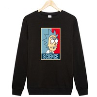 Rick And Morty Hip Hop Science Meme Hoodie Sweatshirt
