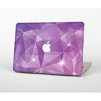 "The Vector Shiny Pink Crystal Pattern Skin Set for the Apple MacBook Pro 13"" with Retina Display"