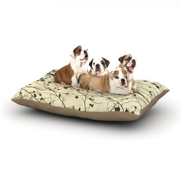 "Iris Lehnhardt ""Boughs Neutral"" Dog Bed"