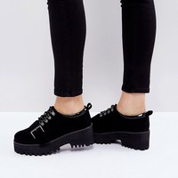 ASOS OUT OF BOUND Hiker Heeled Shoes at asos.com