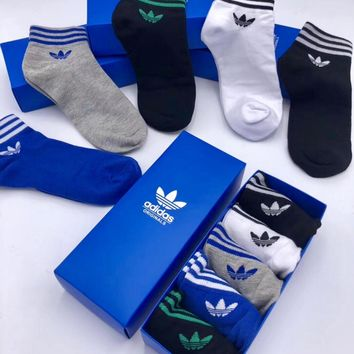Adidas Fashion 5 pics of set Sock Style #128