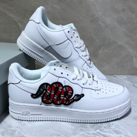 GUCCI/Nike Air Force 1 Air Force No.1 sneakers