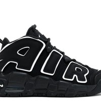 Nike Air More Uptempo Black/White GS