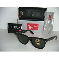 Ray Ban Wayfarer Black RB2140 50