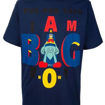 Walt By Walter Van Beirendonck Vintage 'I Am A Big Boy'  T-Shirt