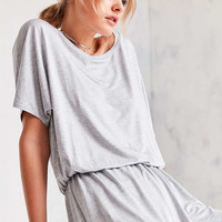 Silence + Noise Slouchy Tee Romper - Urban Outfitters