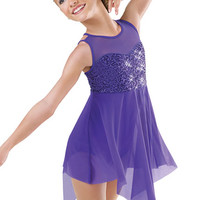 Sequin Bodice Lyrical Dress; Weissman Costumes