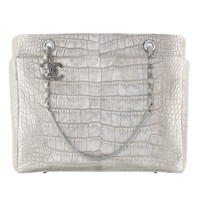 Alligator shopping tote - CHANEL