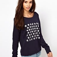 Only Stars Sweat Top at asos.com