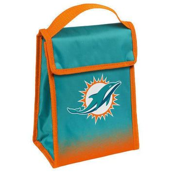 NFL Miami Dolphins Insulated  Lunch Bag Cooler