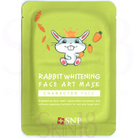 SNP Character Face Rabbit Whitening Face Art Mask
