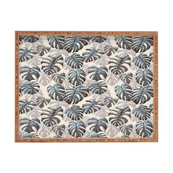 Dash and Ash Palm Springs Blues Rectangular Tray