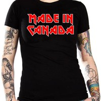 Made In Canada Girls T-Shirt - Madein Canada