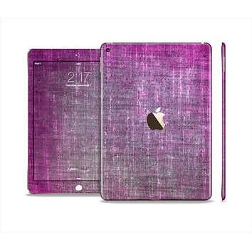 The Grunge Dark Pink Texture Skin Set for the Apple iPad Air 2