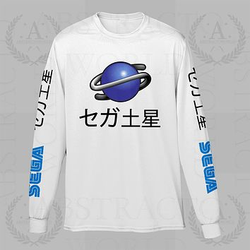 Sega Saturn Gamer Long Sleeve Adult Unisex T Shirt
